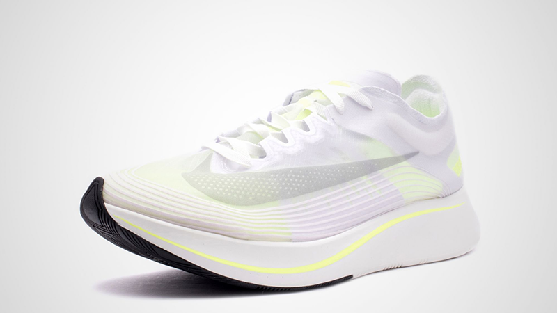 BNIB New Men Nikelab Nike Nike Nike Zoom Fly SP White Volt Glow size 8 9 uk 6c48a2