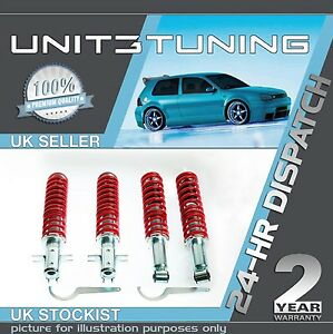 Details about VW VENTO ADJUSTABLE COILOVER SUSPENSION KIT - COILOVERS***