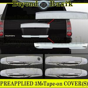 07-14 GMC Yukon//Yukon XL Chrome Liftgate Tailgate Rear Hatch Lower Handle Cover