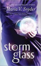 Storm Glass by Maria V. Snyder (2009, Paperback)
