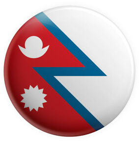 Details about Nepal Nepalese Flag Pin Badge 3