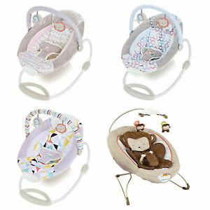 Baby-Rocker-Toddler-Comfortable-Cosy-Bouncer-Safe-Chair-Soothing-Music-Vibration