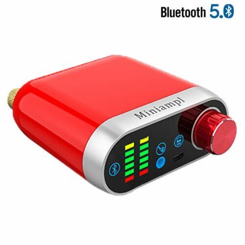 Bluetooth 5.0 Wireless Endverstärker Stereo HiFi Digital Amp 50W+50W