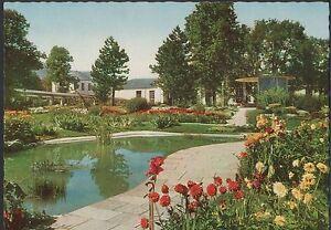 Alte-Postkarte-Bad-Toelz-Herderpark-der-Jodquellen-AG-mit-Wandelhalle