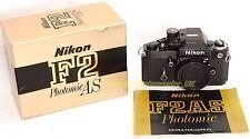 Nikon F2AS NIKON F2 AS Photomic 35mm SLR Camera Made in Japan in 1979 (95% MINT)