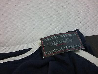 Generoso Bad + Mad,shirt,001,maniche Lunghe,boys,128-176,90 Anni,misurazioni,vintage Una Grande Varietà Di Merci