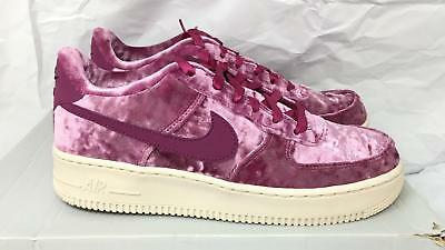 outlet store sale promo code new high Womens Nike Air Force 1 Lv8 GS Sz 8 Tea Berry Velour 849345 601