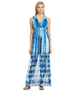Tye Dye Chiffon Dress