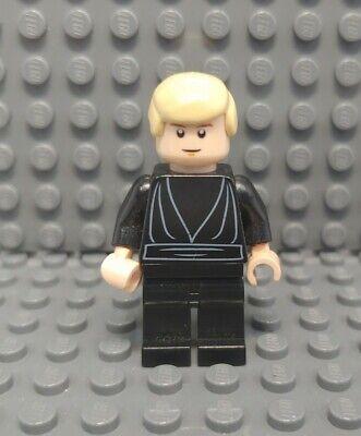 Lego Star Wars Minifigure Jedi Luke Skywalker w// Pupils Lightsaber 10212!