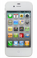 Brand New iPhone 4s 8GB White Unlocked Smartphone One Year  Apple warranty
