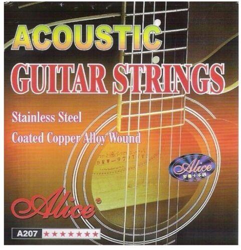 Six Strings Acoustic Guitar Strings Two Sets