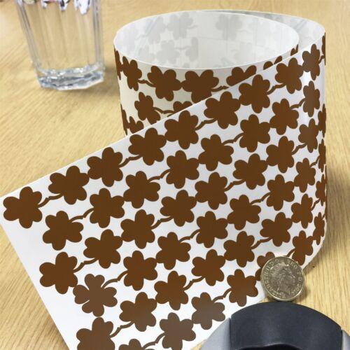 170 Lucky Clover Leaves Vinyl Sticker Irish Shamrock Plant Peel /& Stick 1000G