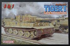 Dragon 1/35 German Pz.Kpfw. VI Ausf. E Sd.Kfz.181 TIGER I Late * 3 in 1 #6253