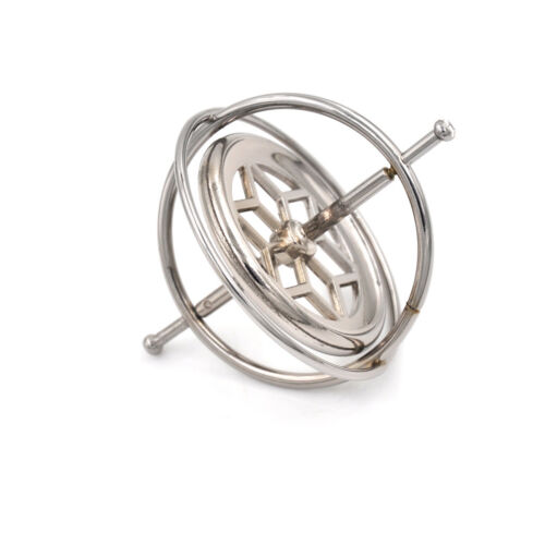 Metal Gyroscope Spinner Gyro Science Educational Learning Balance Toy Gifts s//