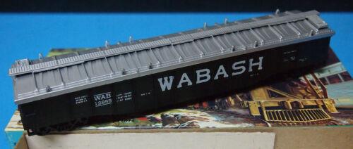 HO Scale Con-Cor Kit WAB Wabash Covered Gondola #12855 limited run