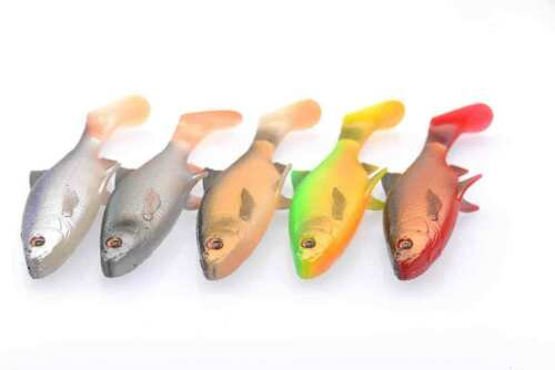 All Variations Savage Gear 3D LB River Roach Paddletail Lure
