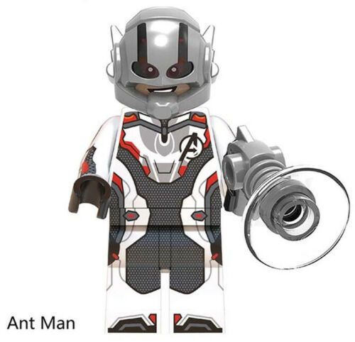 Endgame Marvel Ant Man Infinity War Superheroes Building Blocks Toys Avengers