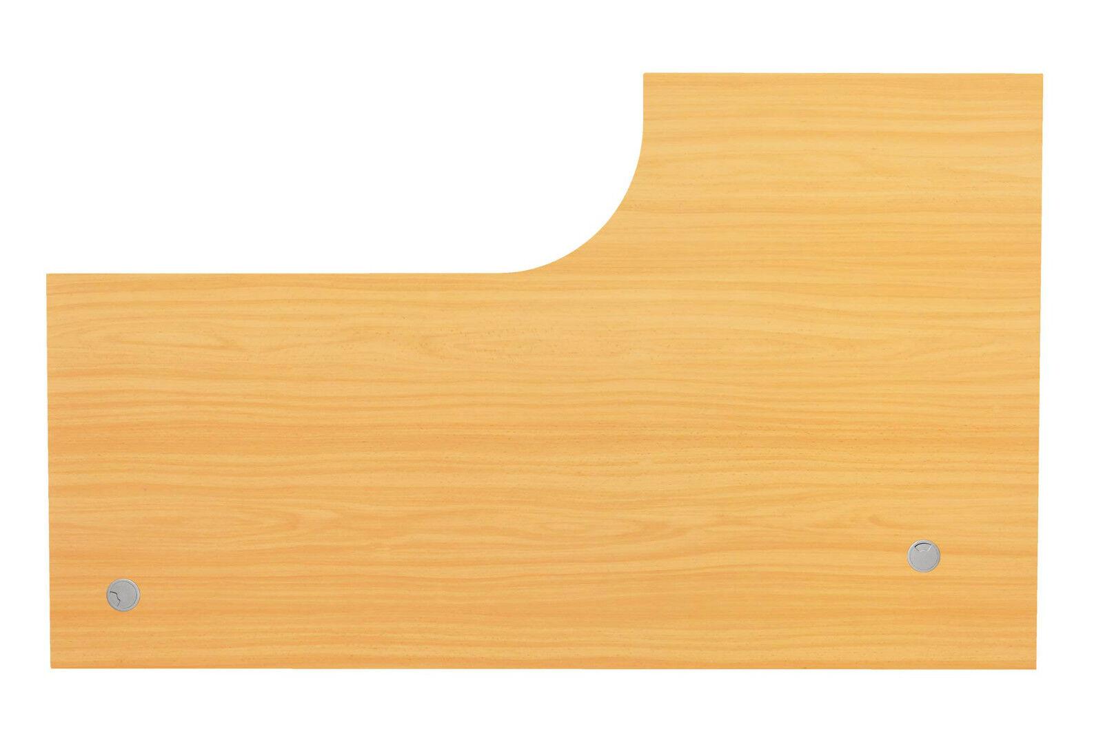 Tischplatte schreibtischplatte holz 200 x 120 cm l form for Tischplatte holz