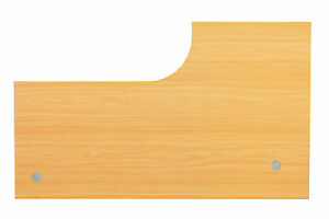 Schreibtischplatte holz  Tischplatte Schreibtischplatte Holz 200 x 120 cm L-Form Dekor Buche ...