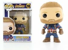 FunKo POP! Marvel Avengers Infinity War - Captain America