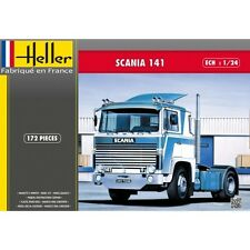 Heller 80773 1:24th scale Model Truck kit Scania 141 Gervais