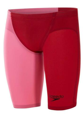 Size 28 Details about  /Speedo LZR Racer Elite 2 Jammers Fed Red Shiny Black Blaze