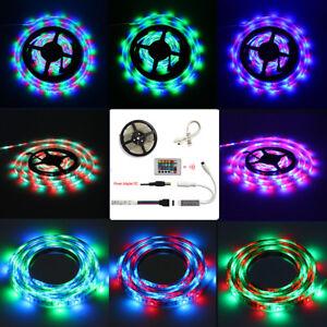 5M-300-LEDs-Home-Under-Kitchen-Cupboard-Unit-Stick-on-Strip-Lights-Tape-12V-Plug