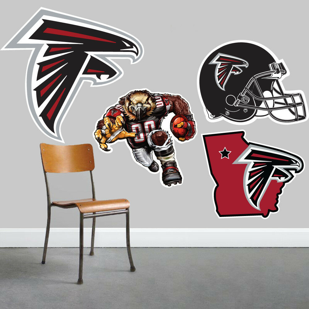 Atlanta Falcons Wall Art 4 Piece Set Large Size------New in Box------