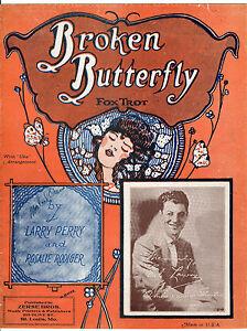 BROKEN-BUTTERFLY-Music-Sheet-1928-ED-LOWRY-Ambassador-Theatre-ST-LOUIS-Missouri
