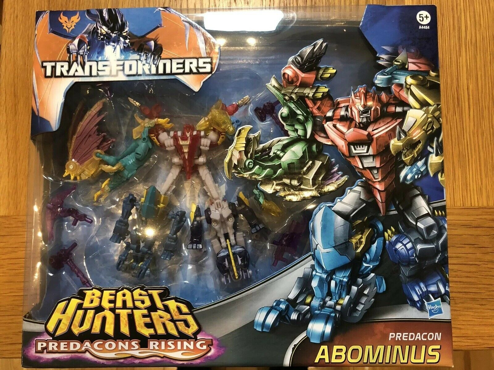 Transformers PRIME BEAST HUNTERS pedacons Rising ABOMINUS