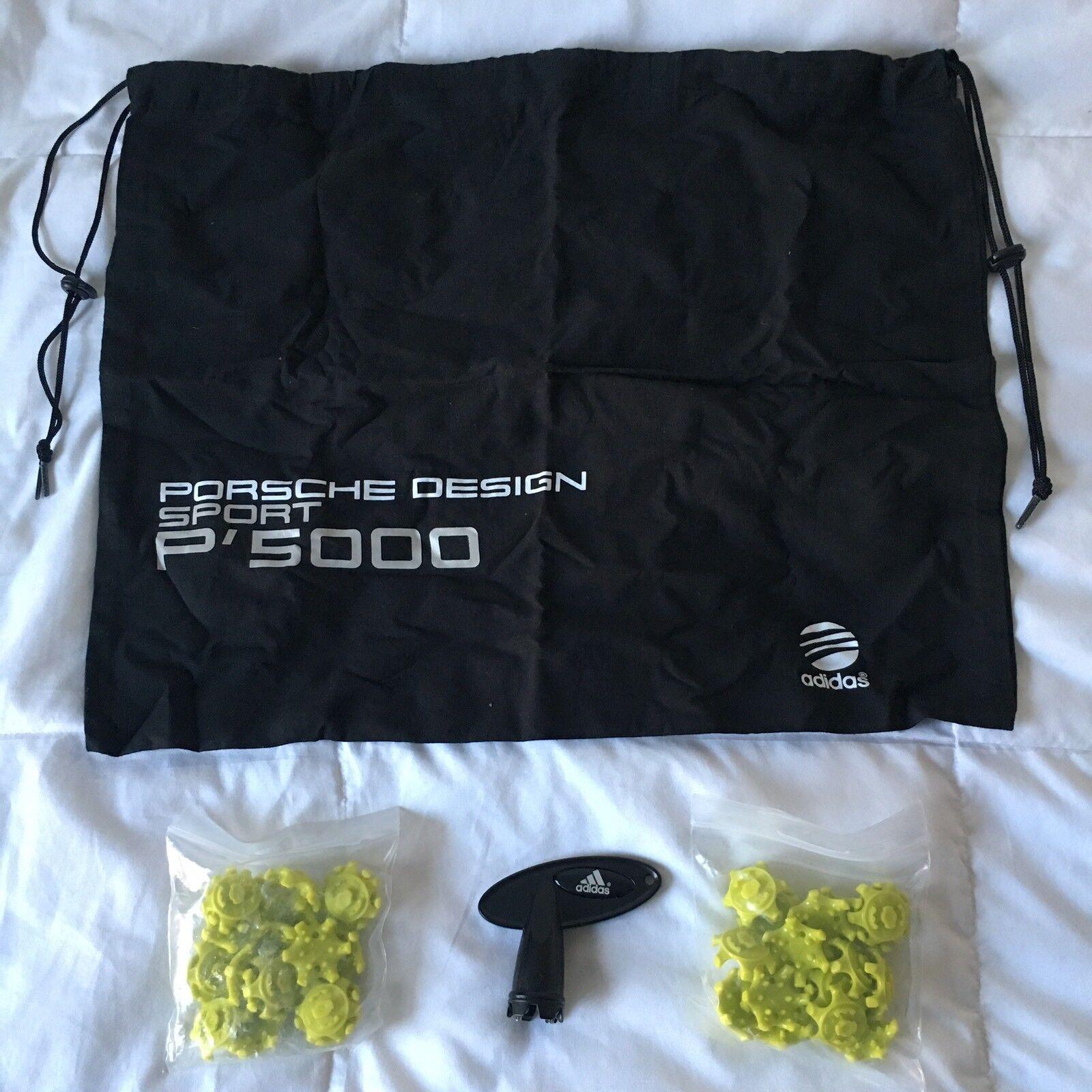 finest selection 72850 0e918 ... Adidas x x x Porche Design Sport gold Cleats, Men s US 8.5, NEW w  Extras 18106d ...