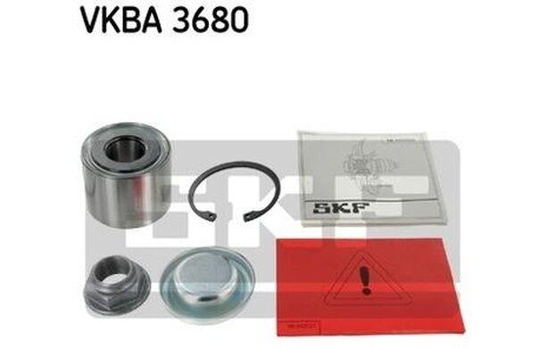 SKF Cojinete de rueda PEUGEOT 307 CITROEN C4 VKBA 3680