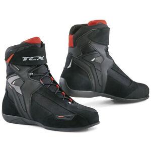TCX-Vibe-WP-Waterproof-Street-Motorcycle-Boots-Black-Size-9-5-US-42-EU