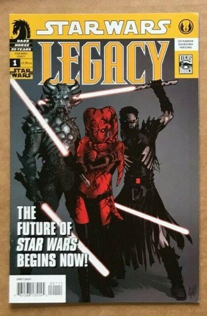 Star Wars Legacy 1 First Cade Skywalker Darth Krayt Nihl Adam Hughes 1st HOT NM