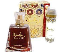 Coffret-Parfum-Raghba-LATTAFA-Eau-de-Parfum-100ML-Deodorant-25ML