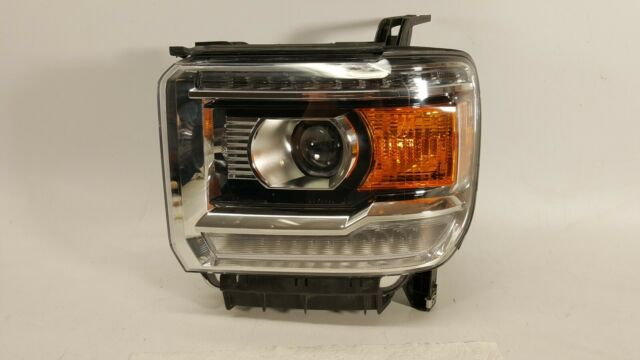 2015-2018 GMC SIERRA 2500 3500 HEADLIGHT DRIVER LEFT HEAD