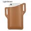 Men Cell Phone Loop Holster Belt Pack Waist Bag Props Leather Purse Wallet Case