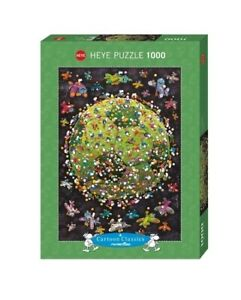 (HY29359) - Heye Puzzles - Cartoon , 1000 Pc - Football, Mordillo