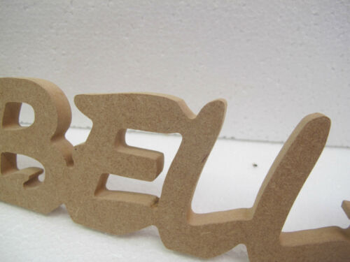 Wooden Personalised Name Premium Quality 12mm High 12mm Thick Disney Font