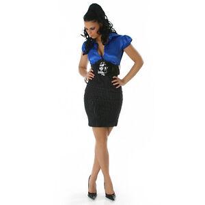 Effet 2 Sexy Glamour Avec Taille Piᄄᄄces M Ceinture Robe Femme L54jAR