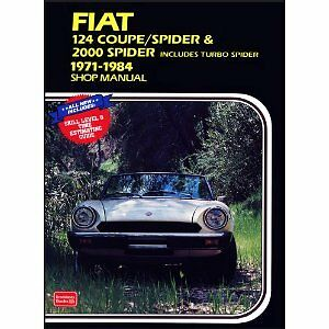 factory workshop service owners repair manual book fiat 124 coupe rh ebay ie 1979 Fiat Spider 2000 1979 Fiat Spider 2000