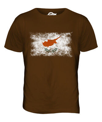 Cyprus New T-Shirt Country Flag Cypriot Top City Map