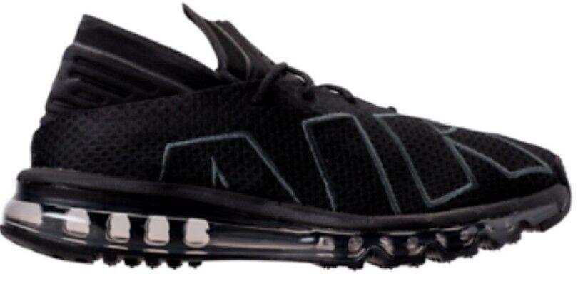 Nike Air Max Flair Uk 8 Mens Trainers Black Running shoes Bnib 942236 002