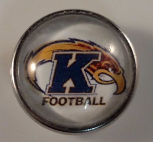 KENT STATE Snap College Jewelry Snaps 18mm University Bracelet Fits Ginger Snaps
