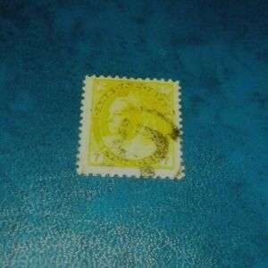 Canada-SC-81-Queen-Victoria-7-Cent-Stamp-Used