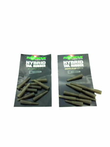 Korda Hybrid Tail Rubbers For Fishing Pack Of 10