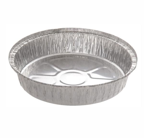 """50 X Round Aluminium Foil Dishes 9"""" Steak Pie Quinche ..."""