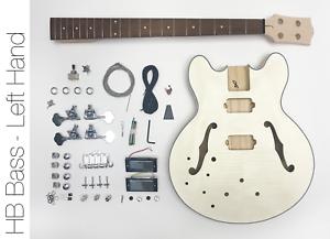 DIY-Electric-Bass-Guitar-Kit-Semi-Hollow-Left-Hand-Bass