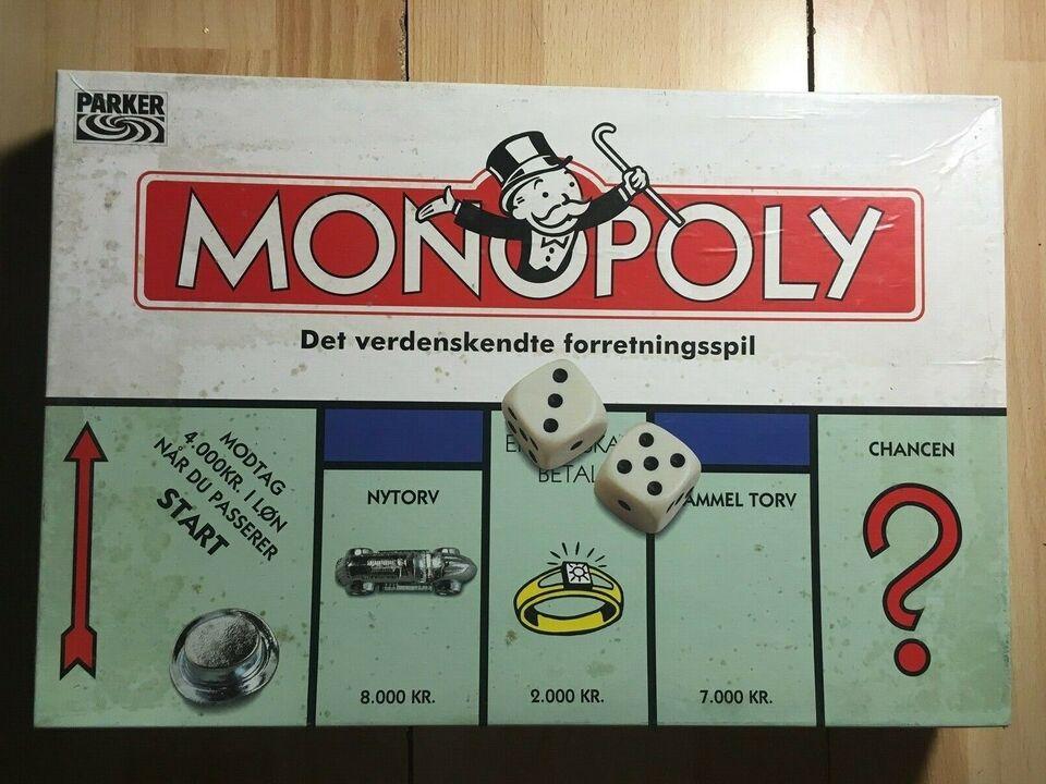 Monopoly, Familespil, brætspil