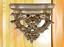 Wandkonsole-Ablage-Polystein-Vintage-Asthetik-silber-Deko-Geschenk-Shabby-Style Indexbild 1